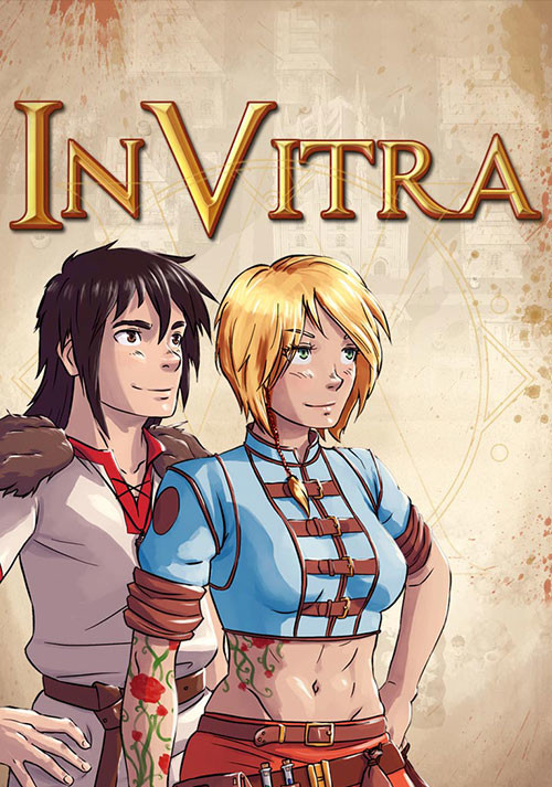 In Vitra - JRPG Adventure - Cover / Packshot