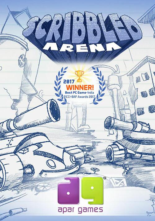 Scribbled Arena - Cover / Packshot