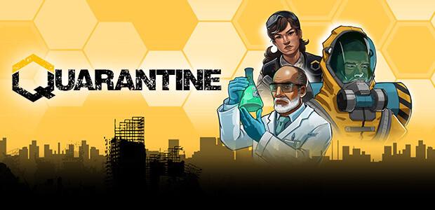 Quarantine - Cover / Packshot