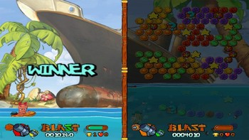 Screenshot5 - Worms Blast
