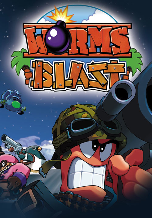 Worms Blast - Cover