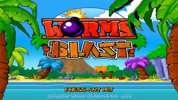 Screenshot1 - Worms Blast