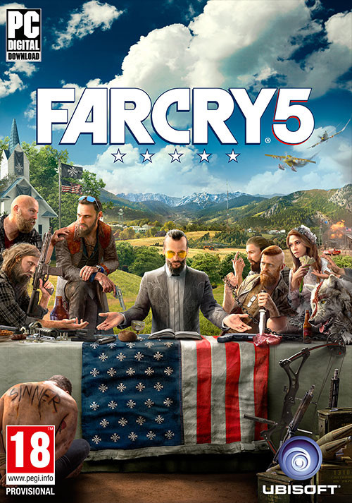 Far Cry 5 - Cover / Packshot
