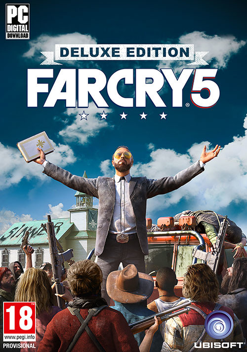 Far Cry 5 - Deluxe Edition - Packshot