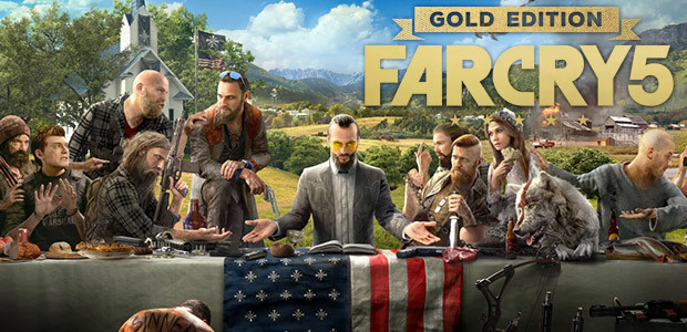 Far Cry 5 - Gold Edition - Cover / Packshot