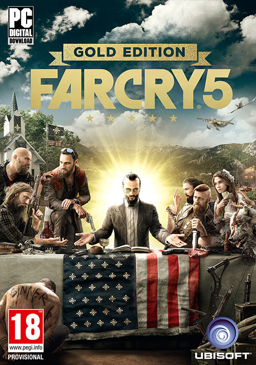 Far Cry 5 - Gold Edition - Cover