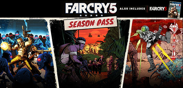 Far Cry 5 - Season Pass - Cover / Packshot