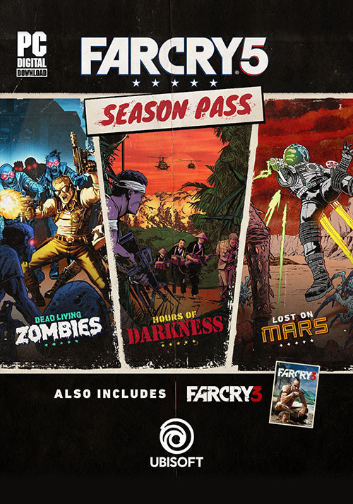 Far Cry 5 - Season Pass - Cover