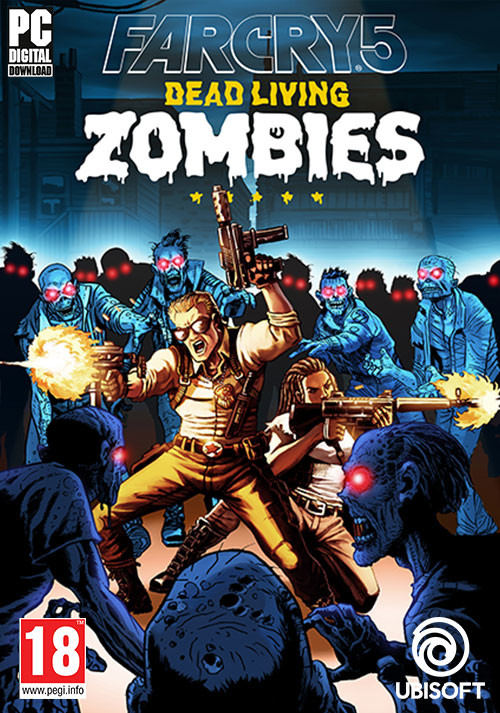 Far Cry 5 - Dead Living Zombies - Cover