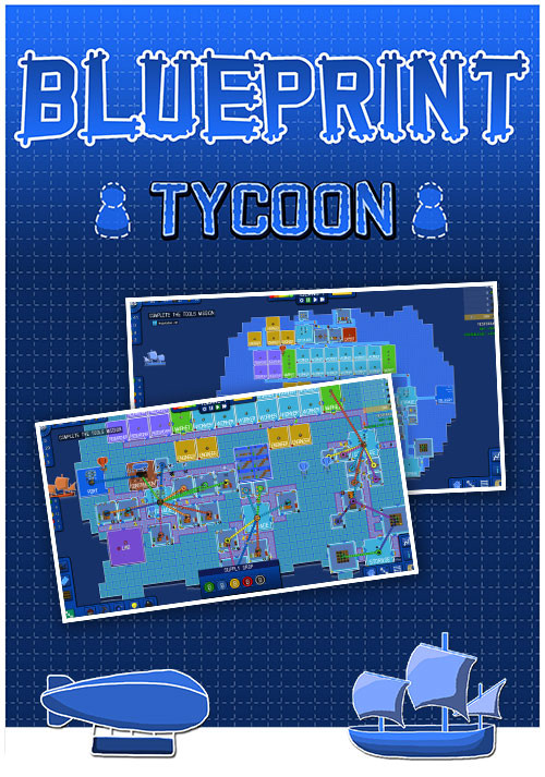 Blueprint Tycoon - Cover / Packshot