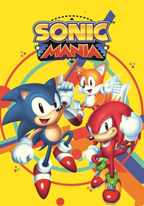 Sonic Mania - Cover