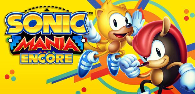 Sonic Mania - Encore DLC - Cover / Packshot