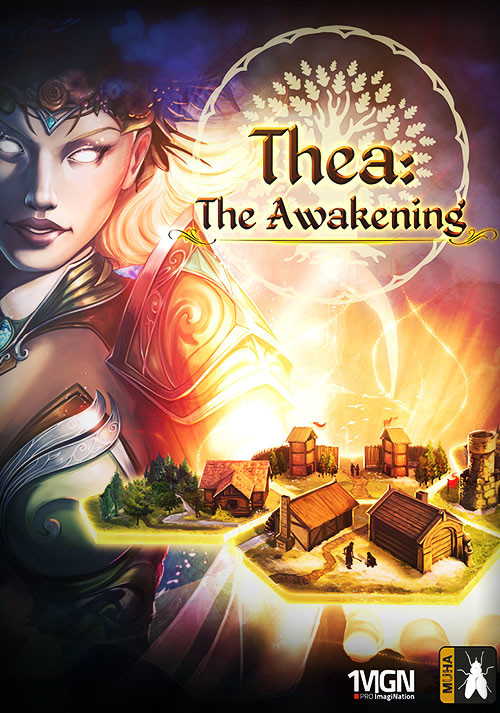 Thea: The Awakening - Cover