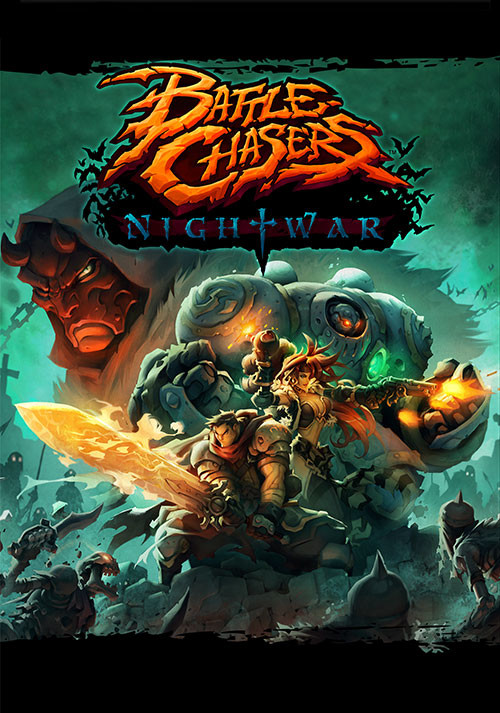 Battle Chasers: Nightwar - Cover / Packshot