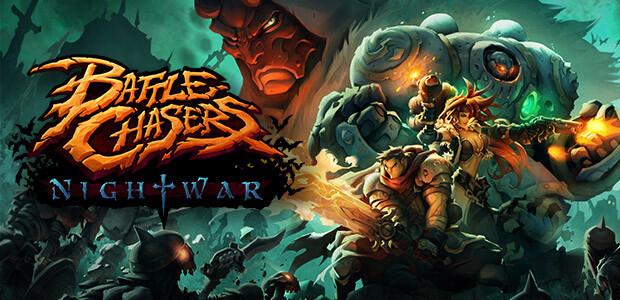 Battle Chasers: Nightwar - Cover / Packshot