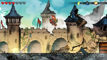 Screenshot2 - Wonder Boy: The Dragon's Trap