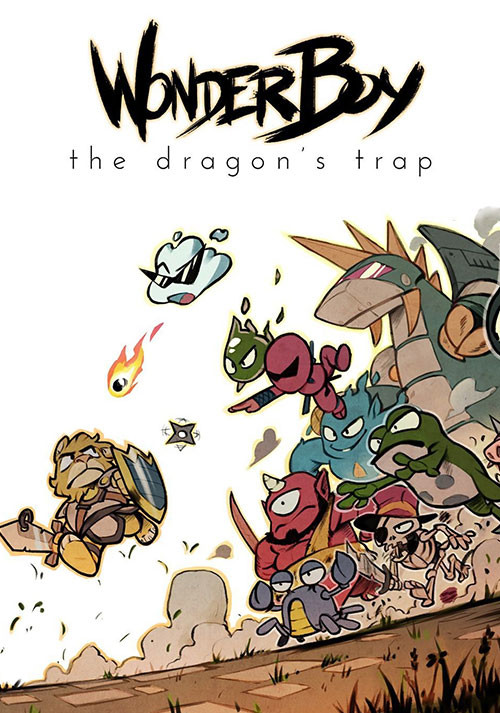 Wonder Boy: The Dragon's Trap - Packshot