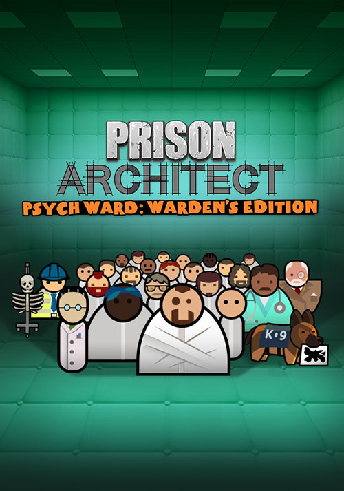 Prison Architect - Psych Ward: Warden's Edition - Cover / Packshot