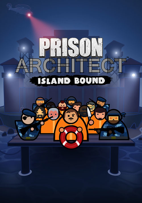 Prison Architect - Island Bound - Cover / Packshot