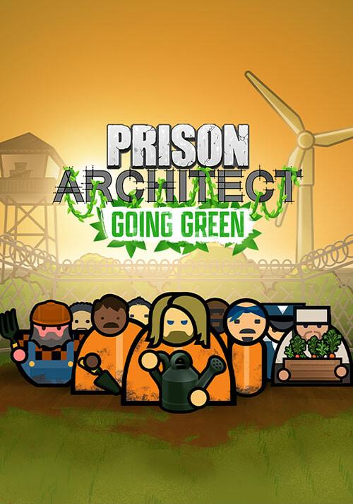 Prison Architect: Going Green - Cover / Packshot