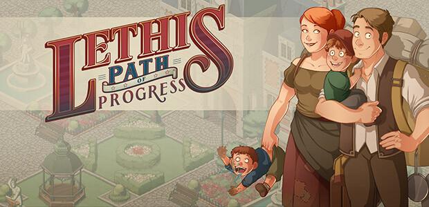 Lethis - Path of Progress - Cover / Packshot