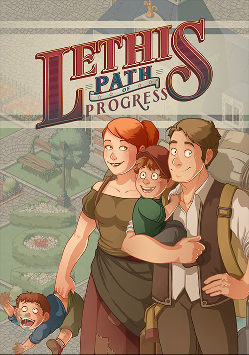 Lethis - Path of Progress - Cover / Packshot