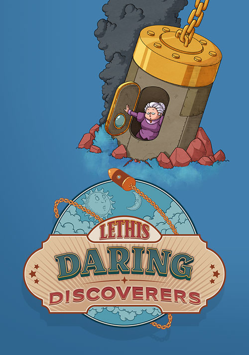 Lethis - Daring Discoverers - Cover
