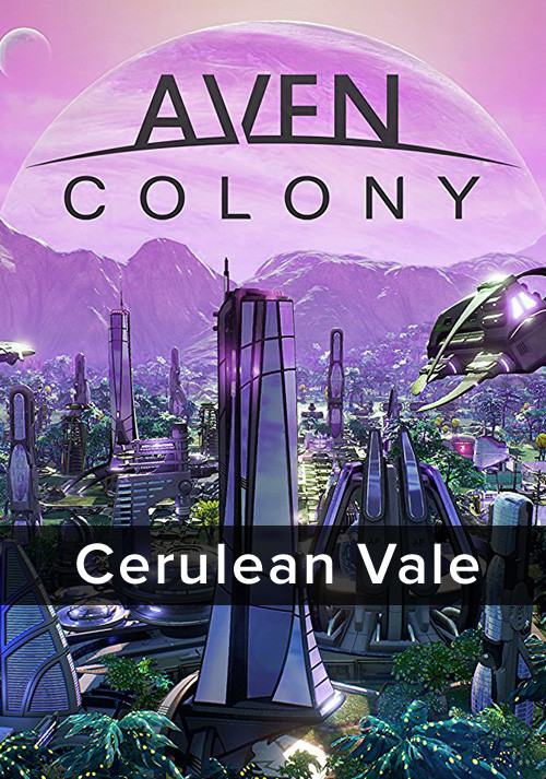 Aven Colony - Cerulean Vale - Cover
