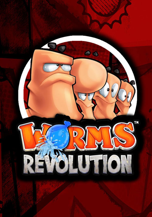 Worms Revolution - Cover