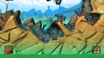 Screenshot9 - Worms Revolution