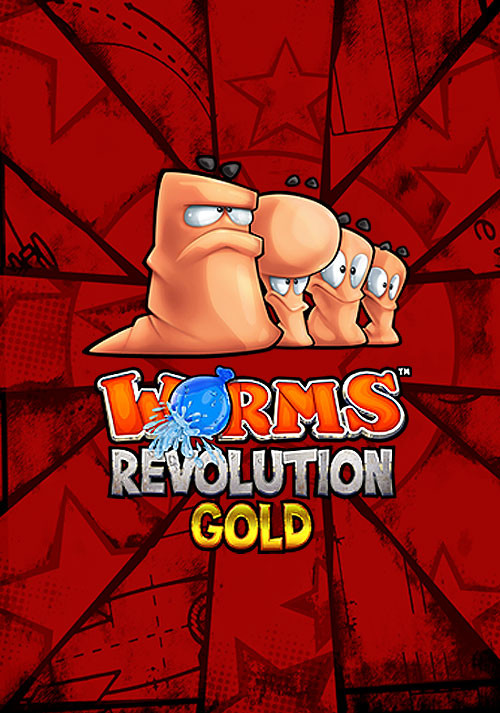 Worms Revolution Gold Edition - Cover