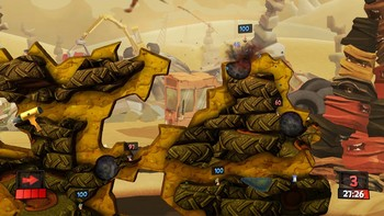 Screenshot3 - Worms Revolution Gold Edition
