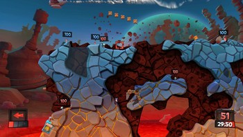 Screenshot4 - Worms Revolution Gold Edition