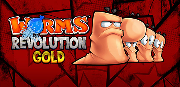 Worms Revolution Gold Edition - Cover / Packshot
