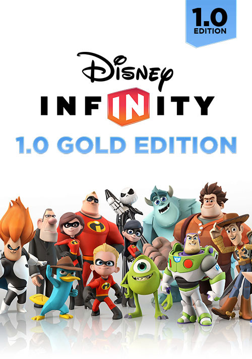 Disney Infinity 1.0: Gold Edition - Cover