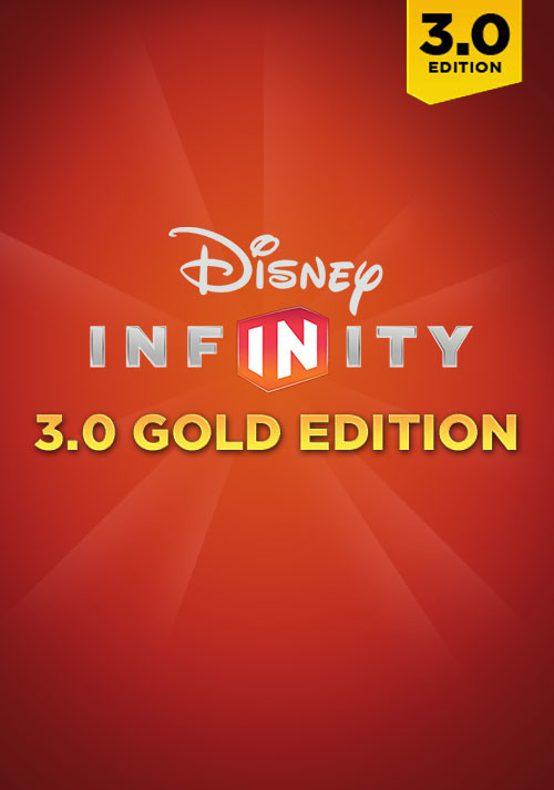 Disney Infinity 3.0: Gold Edition  - Cover