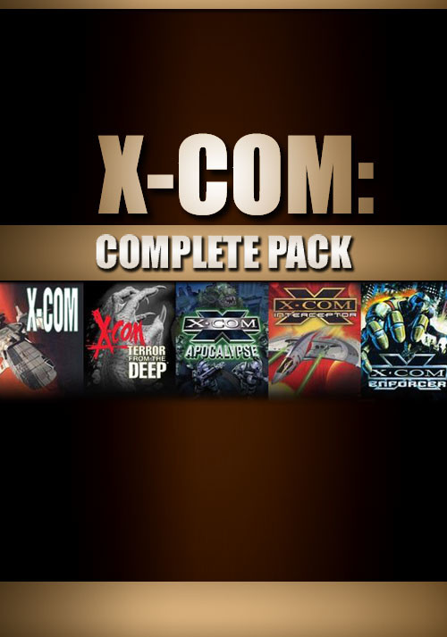 X-COM: Complete Pack - Cover / Packshot