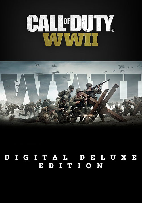 Call of Duty: WWII - Digital Deluxe - Cover / Packshot