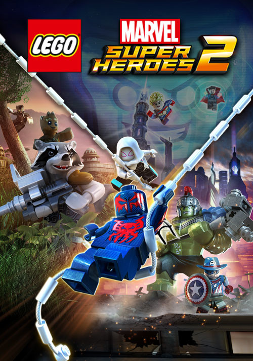 LEGO Marvel Super Heroes 2 - Cover