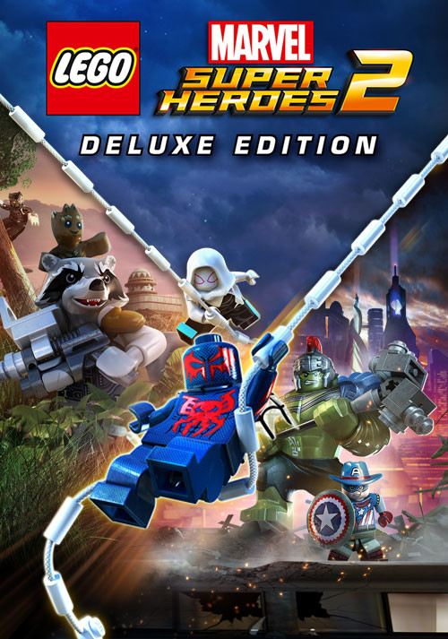 LEGO Marvel Super Heroes 2 Deluxe Edition - Cover / Packshot