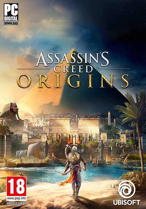 Assassin's Creed Origins - Cover / Packshot