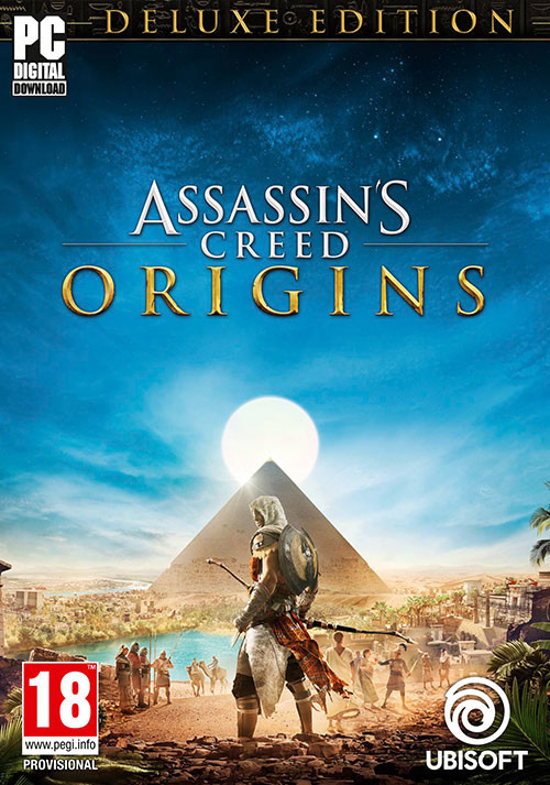 Assassin's Creed Origins Deluxe Edition - Cover / Packshot