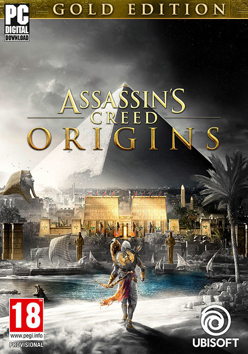 Assassin's Creed Origins Gold Edition - Cover / Packshot