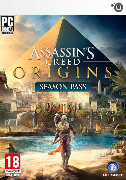 Assassin's Creed Origins - Season Pass - Cover / Packshot