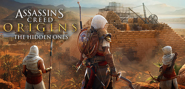 Assassin's Creed Origins - The Hidden Ones - Cover / Packshot