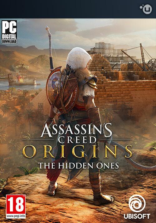 Assassin's Creed Origins - The Hidden Ones - Cover / Packshot