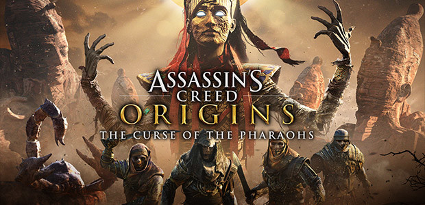 Assassin's Creed Origins - The Curse Of the Pharaohs - Cover / Packshot