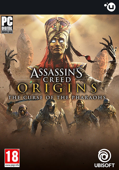 Assassin's Creed Origins - The Curse Of the Pharaohs - Cover