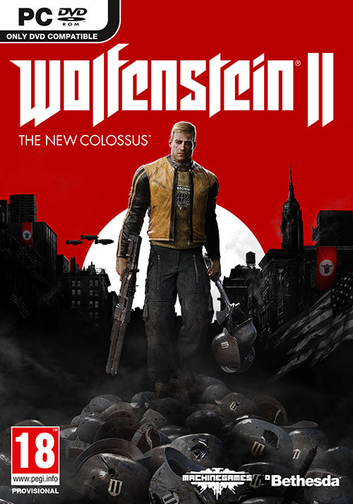 Wolfenstein II: The New Colossus - Cover