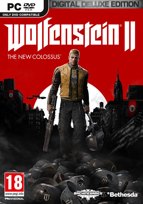 Wolfenstein II: The New Colossus - Digital Deluxe - Cover / Packshot